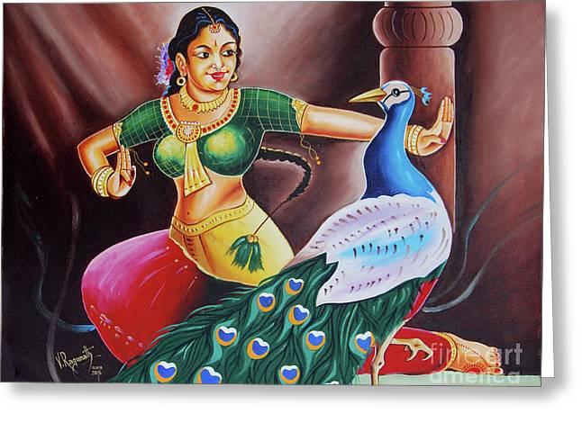 Rhythms Of Tradition Greeting Card