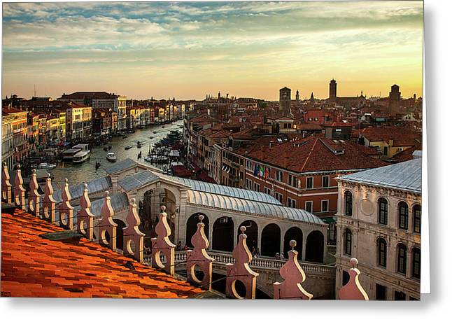 Rialto From Above Greeting Card