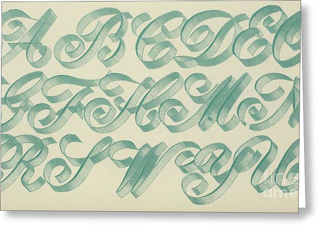 Riband Letter Greeting Card
