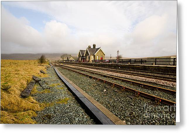 Ribblehead Station Greeting Card by Nichola Denny