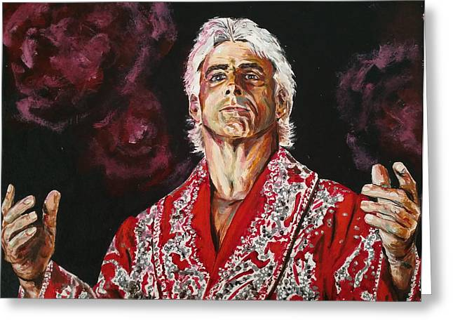 Ric Flair Greeting Card