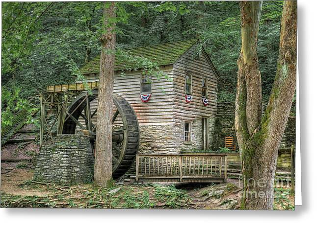 Rice Grist Mill 2017 Greeting Card by Douglas Stucky