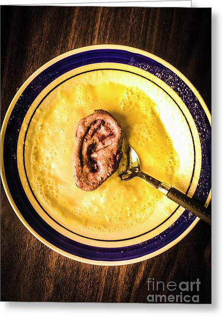 Rich And Creamy, Just The Way I Like It Greeting Card by Jorgo Photography - Wall Art Gallery