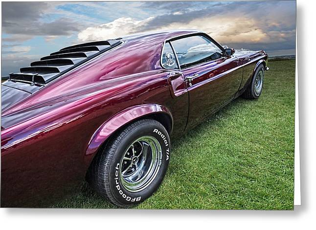 Rich Cherry - '69 Mustang Greeting Card
