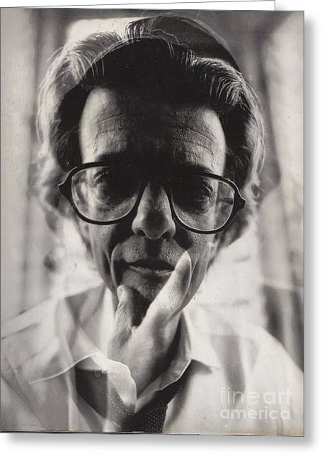 Richard Avedon Greeting Card