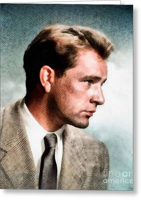 Richard Burton, Hollywood Legend By John Springfield Greeting Card