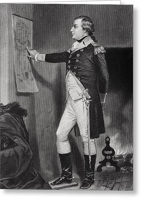 Richard Montgomery 1736 - 1775 Greeting Card by Vintage Design Pics