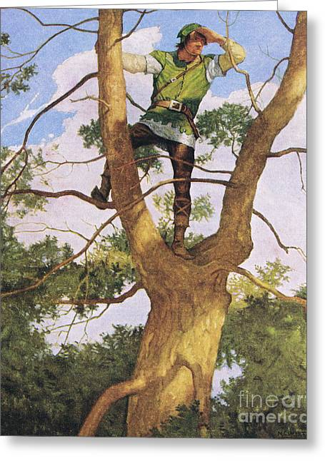 Richard Shelton Greeting Card by Newell Convers Wyeth