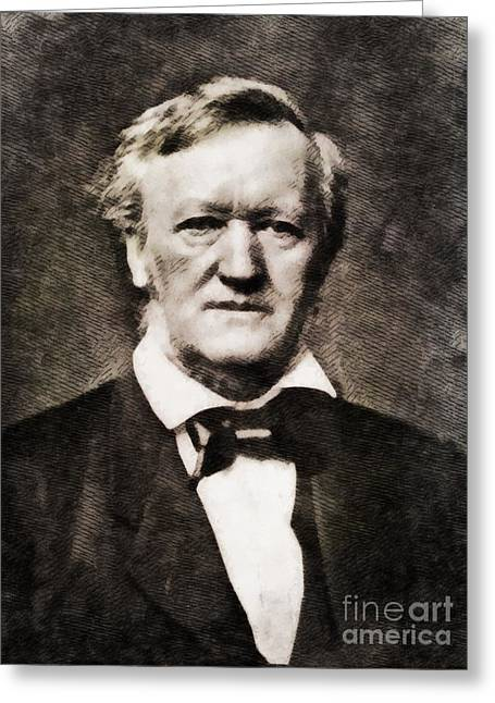 Richard Wagner, Composer By John Springfield Greeting Card