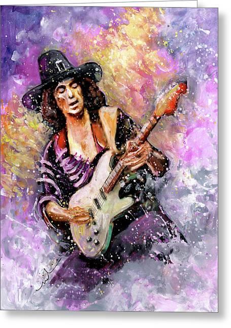 Richie Blackmore Greeting Card