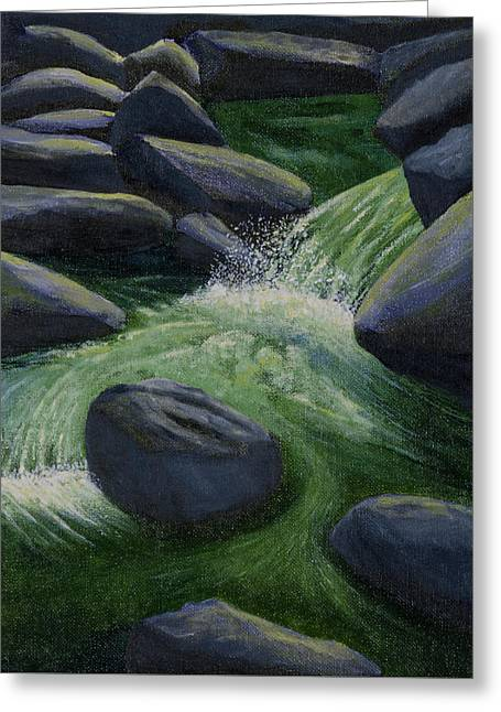 Richland Creek Arkansas Ozarks Greeting Card by Garry McMichael