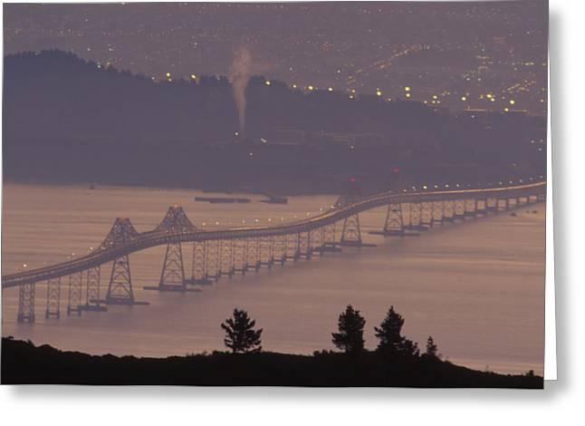 Richmond - San Rafael Bridge Greeting Card