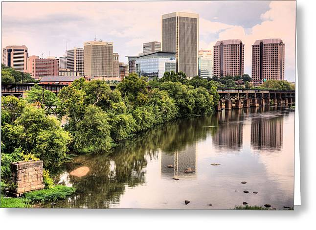 Richmond Skyline Greeting Card