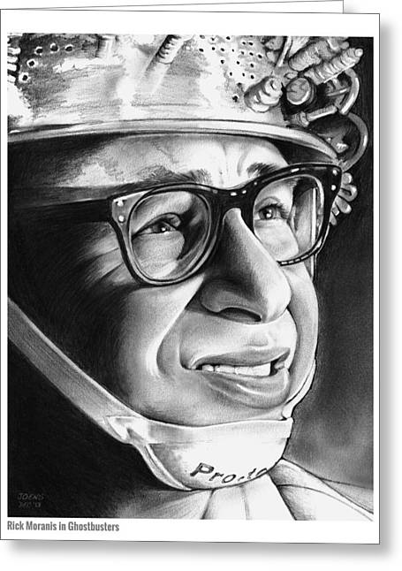 Rick Moranis Greeting Card by Greg Joens