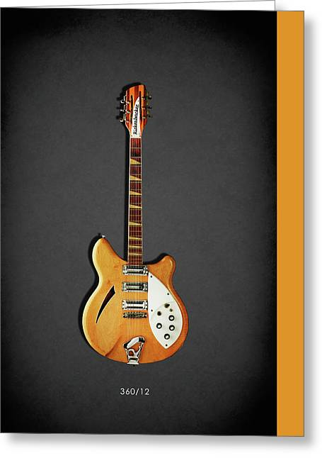 Rickenbacker 360 12 1964 Greeting Card by Mark Rogan