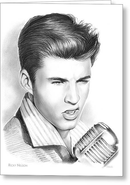 Ricky Nelson Greeting Card