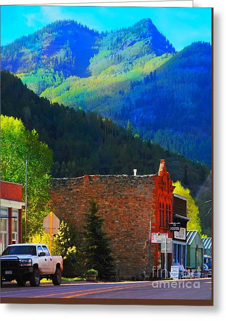 Rico Colorado Greeting Card by Annie Gibbons
