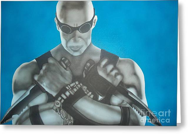 Riddick Greeting Card