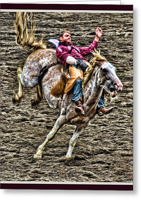 Ride Em Cowboy Greeting Card