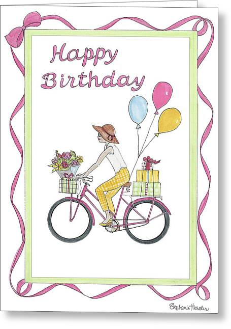 Ride In Style - Happy Birthday Greeting Card