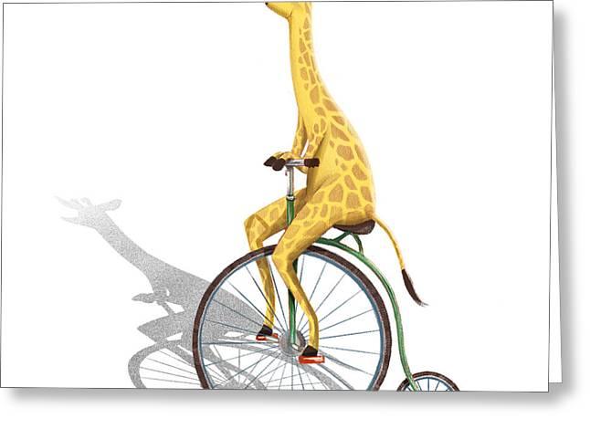 Ride My Bike Greeting Card