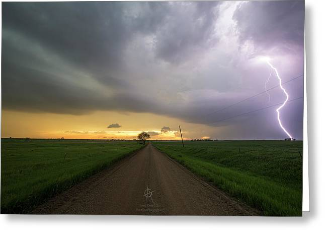 Ride The Lightning 2016 Greeting Card