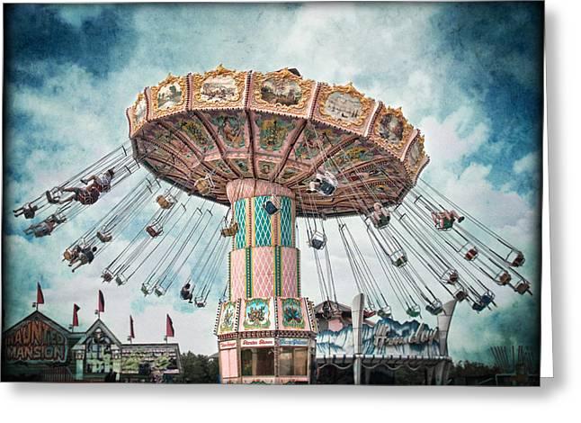 Ride The Sky Greeting Card by Tammy Wetzel