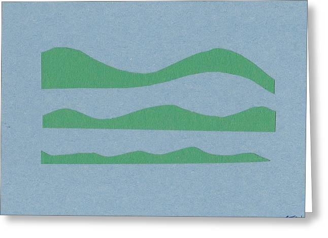 Ride The Waves - Zen Series 3 Greeting Card