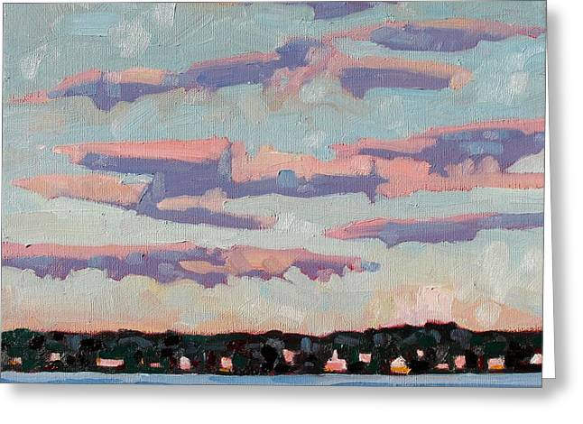 Ridge Stratocumulus Greeting Card