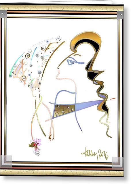 Ridicule - Madame De Blayac Greeting Card