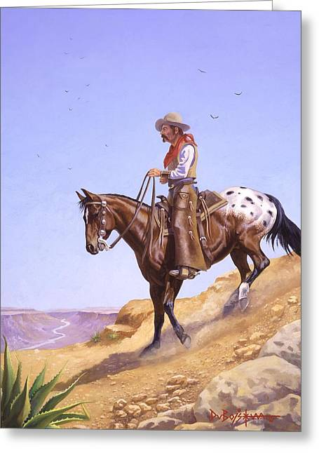 Ridin' High Greeting Card