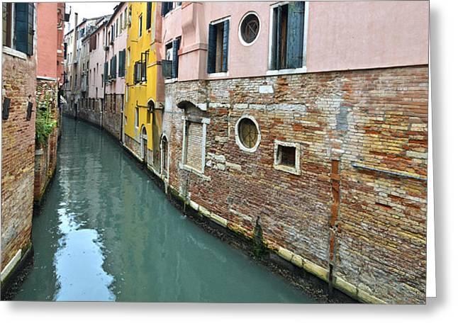 Riellos Of Venice Greeting Card