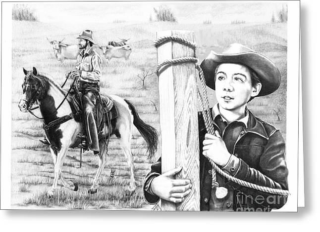 Rifleman-mark-mccain Greeting Card