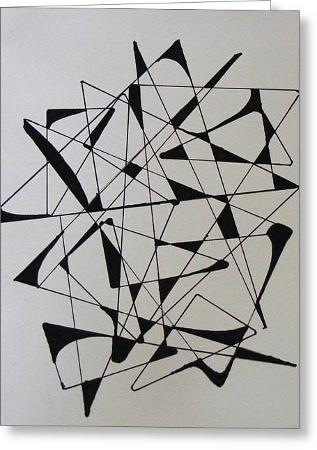 Right Angles Greeting Card
