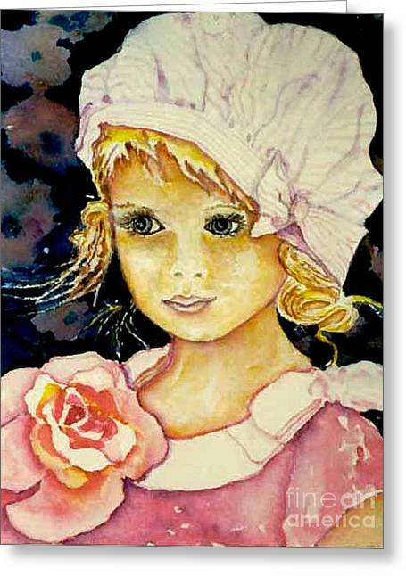 Riley Greeting Card by Norma Boeckler