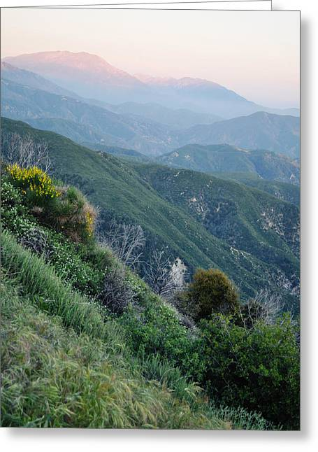Greeting Card featuring the photograph Rim O' The World National Scenic Byway II by Kyle Hanson