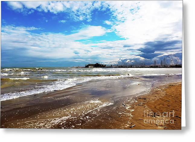 Rimini After The Storm Greeting Card