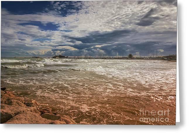 Rimini Storm Greeting Card