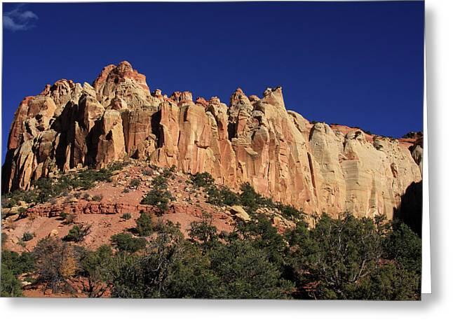 Rimrocks, State Of Utah Greeting Card by Aidan Moran