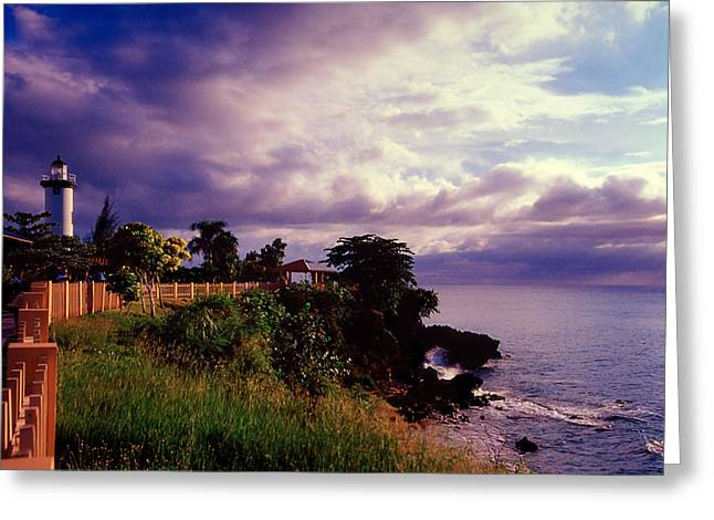 Rincon Lighthouse Puerto Rico Greeting Card