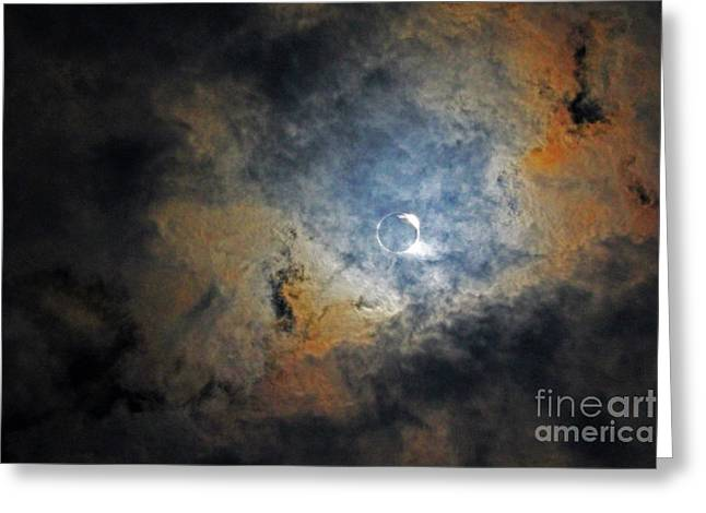 Ring Around The Moon Greeting Card
