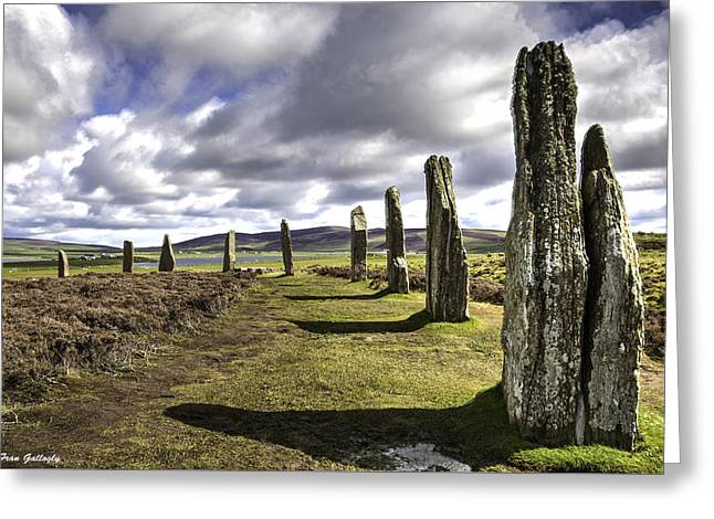 Ring Of Brodgar Greeting Card