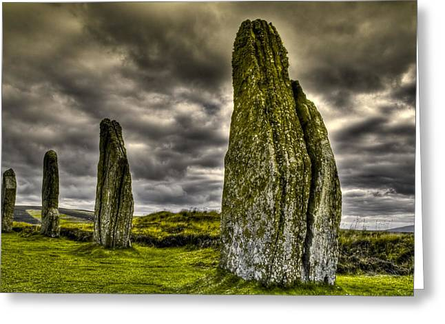 Ring Of Brodgar Orkney Greeting Card