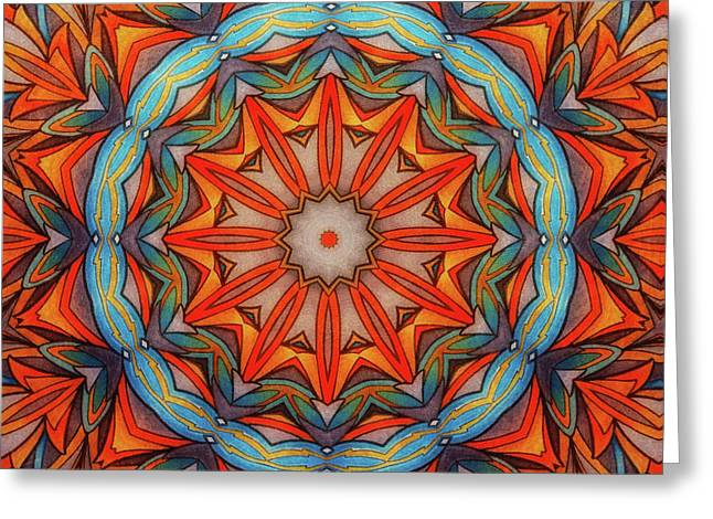 Ring Of Fire Greeting Card by Mo T