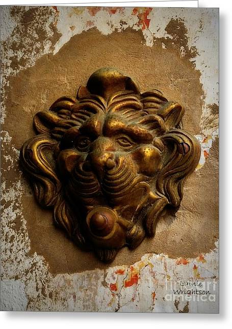 Ring Of The Lion Greeting Card