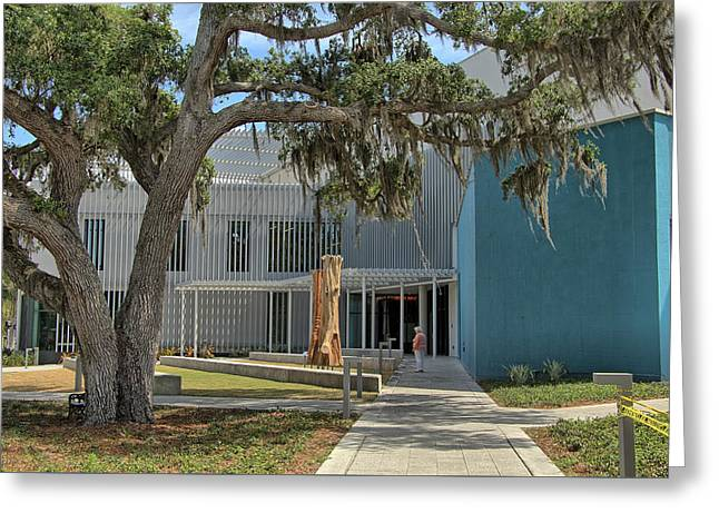 Greeting Card featuring the photograph Ringling College Of Art And Design - Image 2 by Richard Goldman
