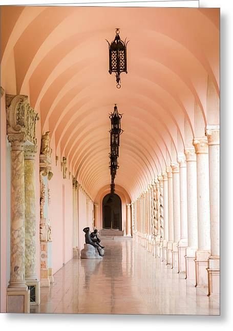 Ringling Museum Of Art Greeting Card by Karen Wiles