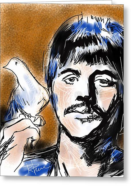Ringo Starr Greeting Cards - Ringo Greeting Card by Russell Pierce