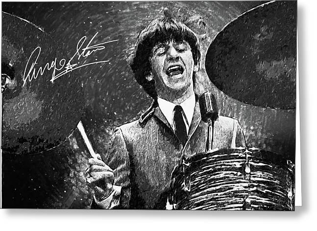 Ringo Starr Greeting Card