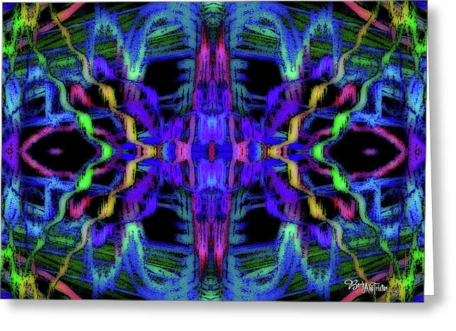 Rings Of Fire Dopamine #156 Greeting Card